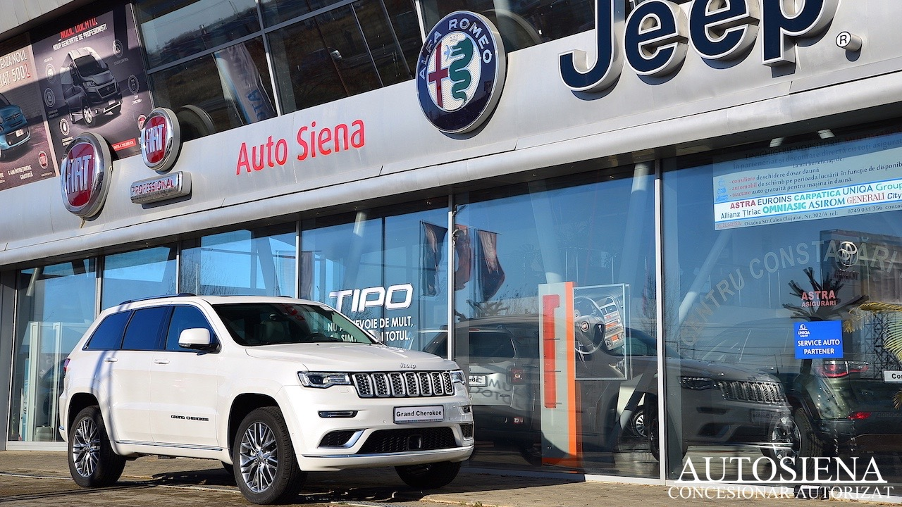 Auto Ocazie - Jeep Grand Cherochee - Summit - Ivory